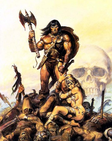 Conan the barbarian 2010 movie illustration