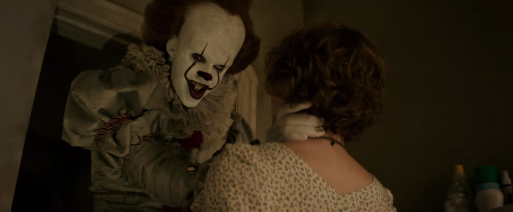 it movie screen beverly scene